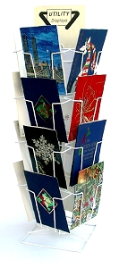 Greeting Card Post Card Spinner Counter Display  Oversize 6 x 9