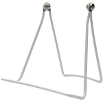 12 Pack    Wide base Adjustable Display Stand    White