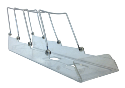 ADS4 Adjustable Wire & Acrylic Easel Display Sled