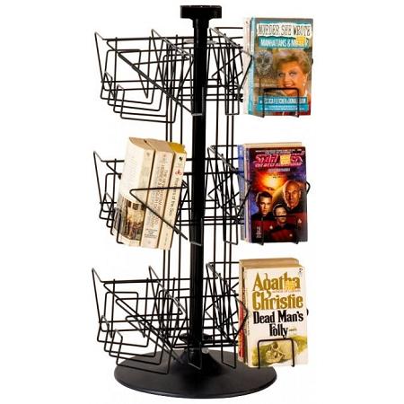 Paperback Countertop Spinner Book Literature Rack