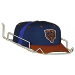 Single Baseball Cap Hat Display Shelf for Slatwall Case  40 Units