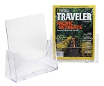 Acrylic Single Pocket Table Literature 8.5 x 11 Inches Counter Top Brochure Holder