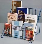 4 Shelf Wire Rack Countertop Literature Display C792