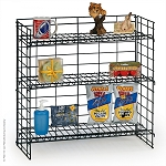 3 Shelf Fold-Up Countertop Display (24