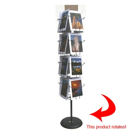 16 Pocket Spinner Floor Display 9x12 16 9012 F