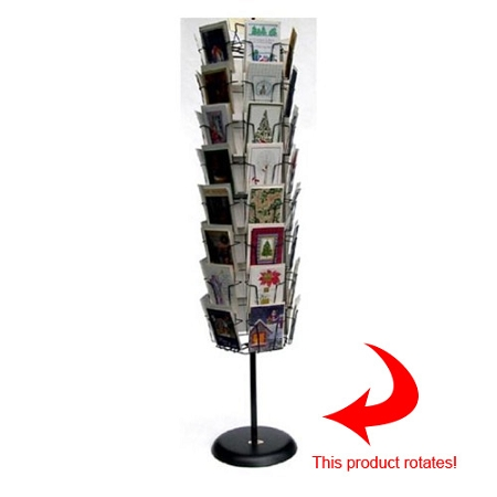 Greeting cards display racks 48 pocket wire floor greeting card spinner 48gvf50 m4hsunfo