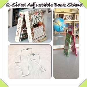 Model 2x15   2 Sided Wide Large Adjustable Stand