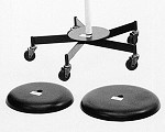 Utility Displays Heavy Duty Caster Wheel Base for Revolving Display Racks