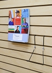 Model 2AXSW Wire Slatwall Adjustable Easel Display