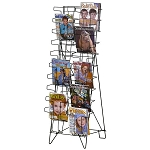 20 Pocket Magazine Literature Wire Display N034