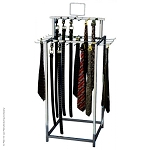 34 Hook Belt Display Tie Rack Retail Display