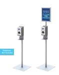 Hand Sanitizer Automatic Dispenser Stands Optional Sign Frame
