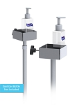 Hand Sanitizer Manual Bottle Pump Dispenser Floor Stands