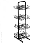 8 Basket Double Sided Marvelous Merchandiser Floor Display