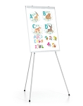 Portable Presentation Floor Easels Lightweight and Durable Magnetic Board White Board 3 Leg