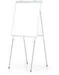 Portable Presentation Floor Easels Lightweight and Durable Markerboard 4 Leg