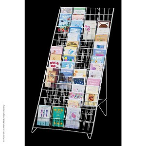 60-Pocket Greeting Card Floor Display
